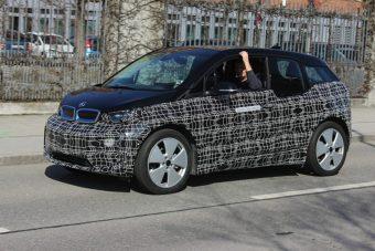 Kémfotókon az új BMW i3-as