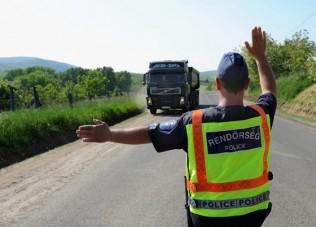 Fokozott közúti ellenőrzés indul hétfőtől