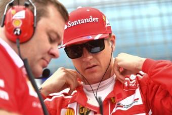 F1: Räikkönen a világbajnoki címért indul