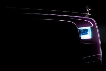 Ilyen lesz az új Rolls-Royce Phantom
