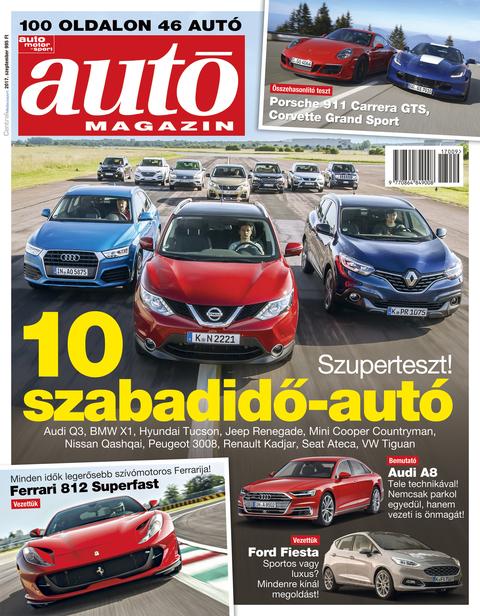 Autó Magazin 2017 szeptember