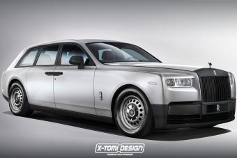 Mezítlábas Rolls-Royce Phantomot tervezett a magyar srác