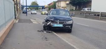 Balesetezhetett Putyin kíséretének egyik autója