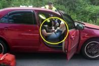 Az életed kockáztatod, ha ebben a pózban ülsz az autóban 1