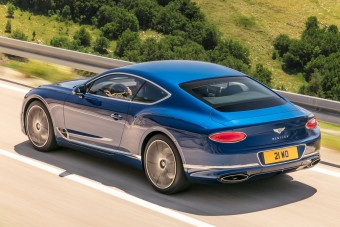 Mozgásban igazán szépséges az új Bentley Continental GT