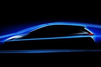 Olyan áramvonalas lesz az új Nissan Leaf, hogy ejha!