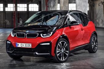 Sportos fazont ölt a BMW villanyautója
