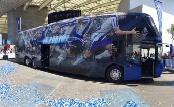 Nem akármilyen buszt vásárolt az FC Porto