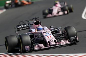 F1: A Force India nem készül pilótacserére