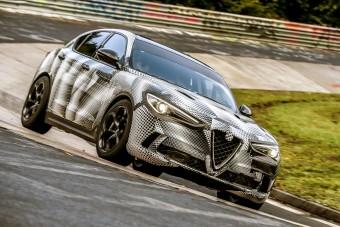 Az Alfa Stelvio a világ legsportosabb szabadidőjárműve