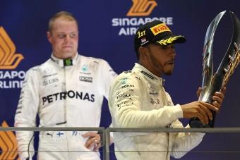 F1: Bottas leckét adott a Mercedesnek