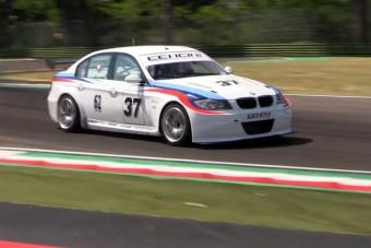 Meglepő motor került ebbe a 3-as BMW-be