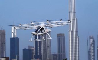Önvezető légitaxit teszteltek Dubajban