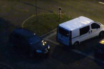 Egy nyíregyházi autós picit kiakadt a parkolóban
