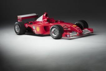 F1: Eladják Schumacher futamgyőztes Ferrariját