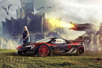 Szerinted is ezek az autók illenek a Trónok harca szereplőihez?