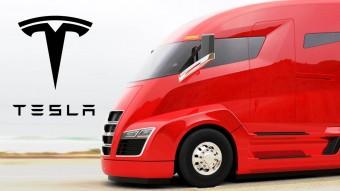 A Tesla október végén bemutatja az elektromos teherautót