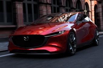 Gyönyörű lesz az új Mazda3