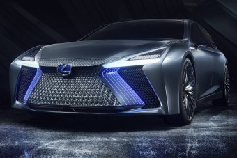 Futurisztikus luxuslimuzin a Lexustól
