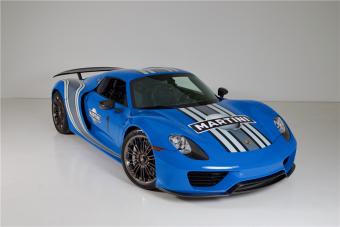 Ha a legkékebb csúcs-Porsche az álmod, akkor eljött a te időd!