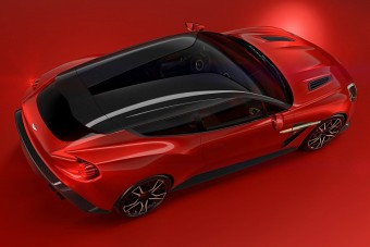 Gyönyörű puttonyos az Aston Martintól
