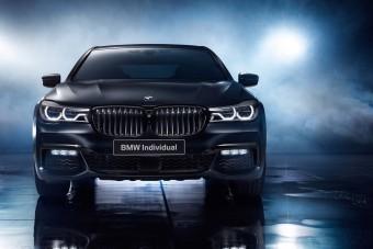 Oroszok kapják a legfeketébb 7-es BMW-t