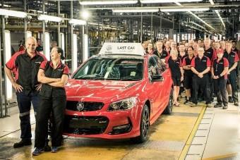 Legyártották az utolsó ausztrál Holdent