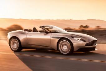Vászontetőt kapott az Aston Martin DB11