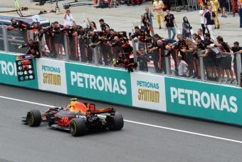 F1: Verstappen győzelme