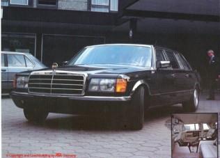 Ez volt a luxus csúcsa 30 éve Mercedes-alapokra építve