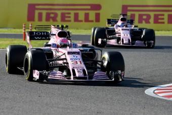 F1: A Force Indiánál marad a versenytilalom