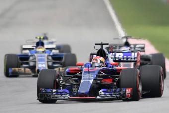 F1: Szomjazott az újonc első futamán