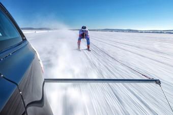 Új világcsúcs: 188 km/óra sílécen!