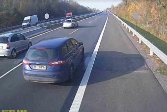 Undorító módon megszívattak egy magyar kamionost az autópályán