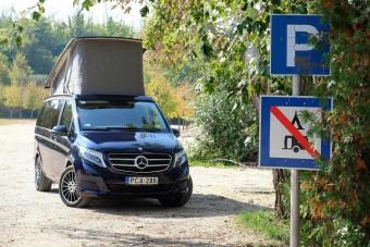 Bárhol otthon lehetsz benne: Mercedes Marco Polo lakóautó