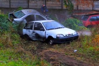 Ámon Olivér megcsinálta az év autós videóját