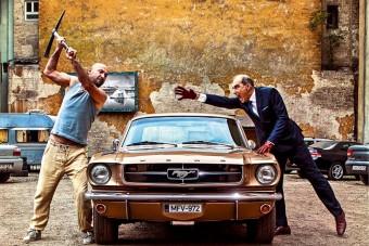 Wartburg rabláshoz, Mustang csákány alá