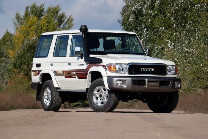 Toyota Land Cruiser terepjáró