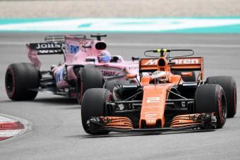 F1: Vandoorne legjobb futamán van túl