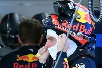 F1: Verstappen is megbetegedett Malajziában