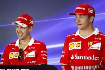 F1: Ezért ragaszkodik Vettel Räikkönenhez