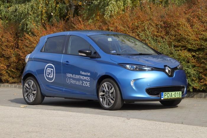 Teszteltük Európa legnépszerűbb elektromos autóját