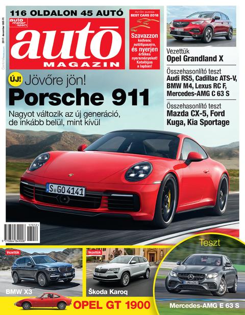 Autó Magazin 2017 december