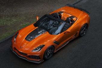 Kabrió készült a legerősebb Corvette-ből