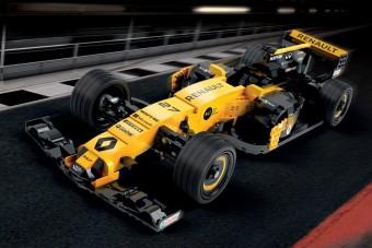 F1 versenyautó, amely több mint félmillió alkatrészből áll (mégsem megy sehová)