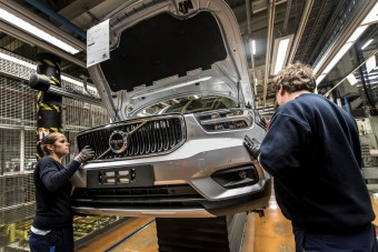 Megkezdődött a legfontosabb Volvo szériagyártása