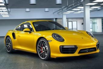 Aranyárban mérik a Porsche különleges, sárga fényezését