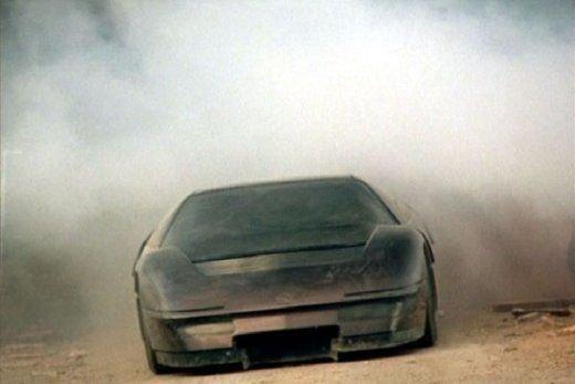A Dodge prototípus a portban.