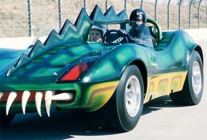Komikusnak hat inkább mint rémsztőnek, a Death Race 2000 aligátora.