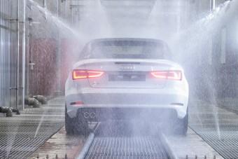 Durva, mit kell kibírnia minden győri Audinak